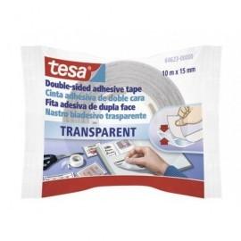 TESA Cinta  Adhesiva 10m x15mm Doble cara  TESA TAPE,S.A