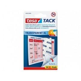 TESA Puntos adhesivos tesa® tack transparentes xl, 36 uds. 594040000000