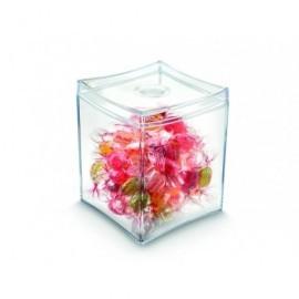CEP Caja transparente para casilla ctral. bandeja take a break,util.8,2x8,2xH9,4cm 1012100111