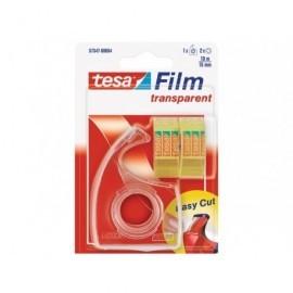 TESA Dispensador + 2 cintas transparentes 10mx15mm. 57347-00004-03