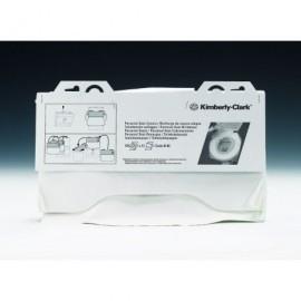 KIMBERLY-CLARK Recarga 125 cubreasientos,papel extrafino 455x380mm,se deshacen con el agua 6140