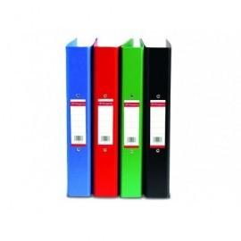 PERGAMY Carpeta anillas pp A4 4 anillas 40mm verde coleccion definiclas