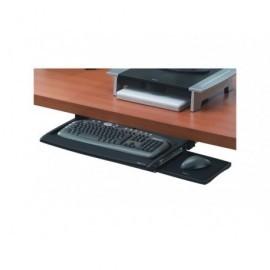 FELLOWES Bandeja deluxe Office Suites para teclado y ratón negro/plateado 8031201