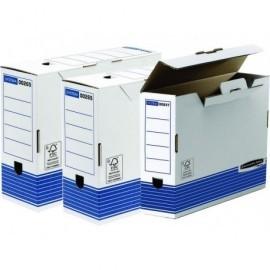 FELLOWES Archivo definitivo System Caja A4 Carton Blanco 0026501