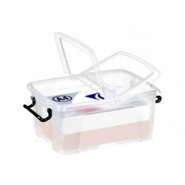 CEP Caja almacenamiento 295x405x183mm 12L. Cierre con clips 2006710110