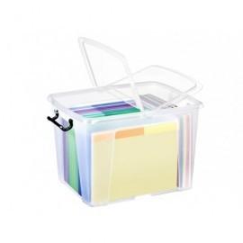 CEP Caja almacenamiento 397x498x329mm Cierre con clips Apilable 2006740110