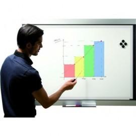 BI-OFFICE Pizarra electronica Expression 90x120 cm Rotuladores de borrado en seco EXP050301