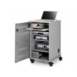 NOBO Mueble Multimedia 95x57x60cm 4 estantes 1902339