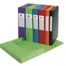 5* Carpetas proyecto A4 Lomo 40 mm Colores surtidos Tarjetero
