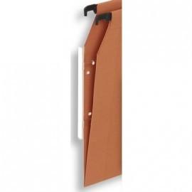 PERGAMY Paquete de 25 visotes 295x10mm para carpeta colgante 400066190
