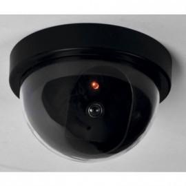 CAMARA DE SEGURIDAD FALSA CCTV LED INTERIOR Y EXTERIOR (PILAS NO INCLUIDAS) REF.8001101