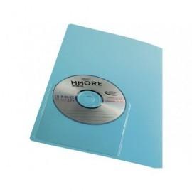 IBERPLASfundas CD/DVD autoadhesivas PVC transparente 479ACD10
