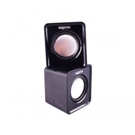 Mini Altavoces USB 5W APPROX(ROJO)