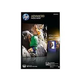 HP Papel fotográifco satinado avanzado 250g/m2, 10x15cm, sin bordes, 100 hojas
