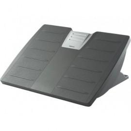 FELLOWES Reposapiés ajustable Office Suites con protección Microban negro plata 8035001