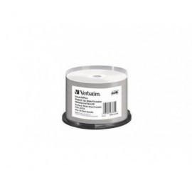 DVD-R VERBATIM 4,7Gb 16x Azo Wide Waterproof Printable Surface (Tarrina 50)