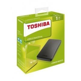 "DISCO DURO EXTERNO TOSHIBA CANVIO BASICS USB 3.0 2.5"" 1TB"