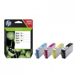 HP Photosmart C5380/Photosmart C6380/Photosmart D5460  nº364XL Pack 4 Cartuchos (N/C/M/Y)
