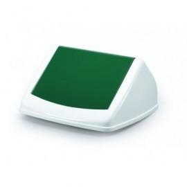 DURABLE Tapas contenedores Durabin 40L 170x315x325mm verde Para Durabin 40L 1801574012