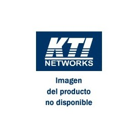 KTI 3-port, RJ-45 copper to POF - Plastic Optic Fiber, media converting switch