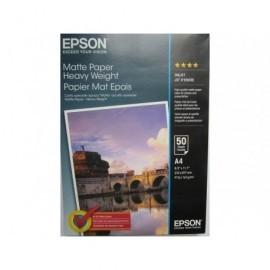 EPSON Papel fotografico Paquete 50 hojas A4 167 G Superficie sin arrugas y suave C13S041256
