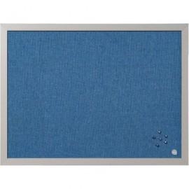 BI-OFFICE Tablero Tapizado 45X60 Azul FB04130608