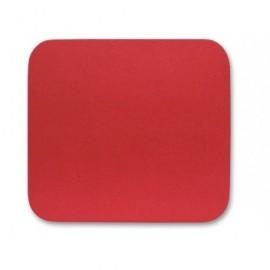 FELLOWES Alfombrilla para ratón estándar rectangular antideslizante rojo 29701