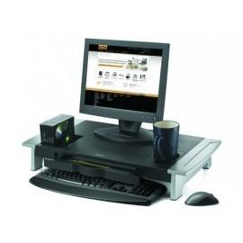 FELLOWES Soporte para monitor de hasta 21'' Premium Office Suites negro/plateado 8031001