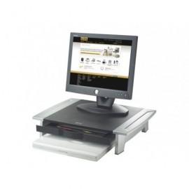 FELLOWES Soporte para monitor 21'' Office Suites sin atril negro/plateado 8031101