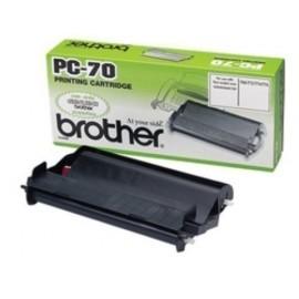 CONS TTR BROTHER PC 70 FAX T7X 8X 9X CARTUCHO Y BOBINA 144 PAG