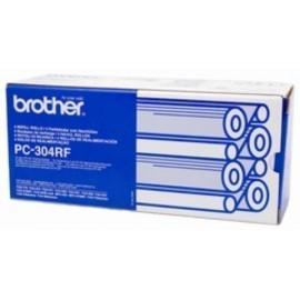 CONS TTR BROTHER PC304RF FAX 920 921 930 931 RECAMBIO 4 BOBINAS 235 PAG X4