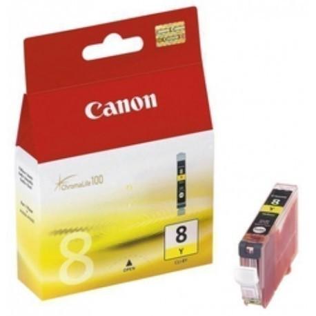 CARTUCHO INKJET CANON CLI8Y DEP TINT AMARILLA IP3000 4000 5000 6000 0623B001AA