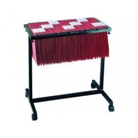 FADE Carro extensible carpetas colgantes  A4 650x680mm Negro Para 100 carpetas 400021832