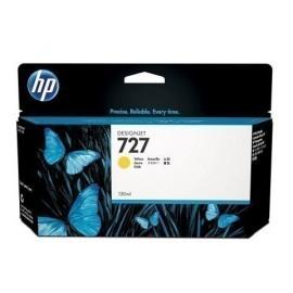 CARTUCHO INKJET HP B3P21A N 727 DESIGNJET T920 T1500 AMARILLO 130 ML