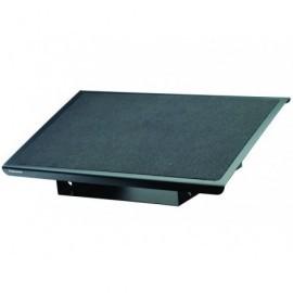 FELLOWES Reposapiés metálico Professional Series con plataforma antideslizante negro 8064101