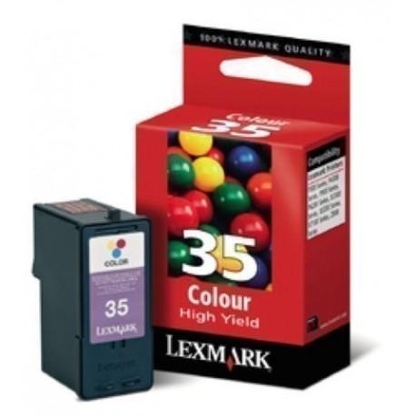 CARTUCHO INKJET LEXMARK 18C0035E N 35 TRICOLOR A R 450 PAG