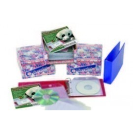 FUNDA CD DVD IBERPLAS PVC 130x130 SOLAPA con 2 TALAD Y PROTECCION 140