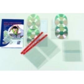 FUNDA CD DVD IBERPLAS PVC A4 con 4 TALAD C REFZO 4 DPTO 150