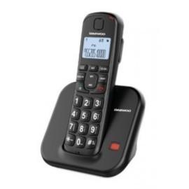 TELEFONO INALAMBRICO DAEWOO DTD 7200B NEGRO