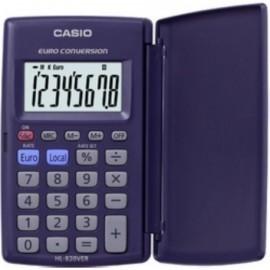 CALCULADORA de BOLSILLO CASIO 8 DIGITOS HL 820 VER con TAPA