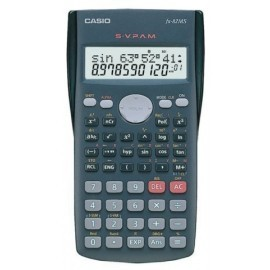 CALCULADORA CIENTIFICA CASIO 10 2 DIGITOS FX 82 MS 2 líneas