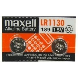 Pilas Maxell Micro Lr1130 Blister De 2 (M567)