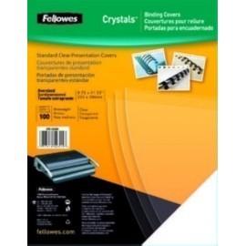 TAPA de ENCUADERNAR FELLOWES A4 0 15 mm PVC CRISTAL