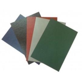 Tapa De Encuadernar Yosan Carton Gofrado Piel A4 0,8 Mm Rojo Caja De 50