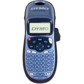 MAQUINA de ROTULAR DYMO ELECTRONICA LETRATAG LT100 H portable AZUL