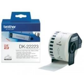 ETIQUETAS BROTHER CONTINUA PAPEL BLANCO 50 mm ROLLO 30 48 m DK22223
