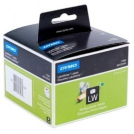 ETIQUETAS DYMO LABEL WRITER 32x57 mm ROLLO 1 000 uds PAPEL BLANCO MULTIFUNCION 11354