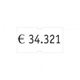 ETIQUETAS de PRECIOS PRYSE ADH NORMAL 21x12 mm BLANCO ROLLO 1 000 uds