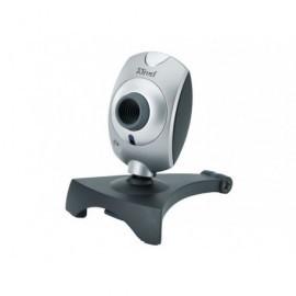 TRUST Webcam Primo 2MPX 640 x 480 pixeles Usb 2.0 micrófono negro/plata 17405