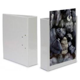 CARPETA CANGURO GRAFOPLAS PVC A4 4 an MIXTAS 25mm BLANCO